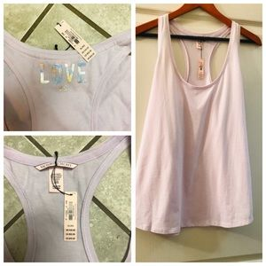 NWT lilac workout tank from Victoria's Secret XL